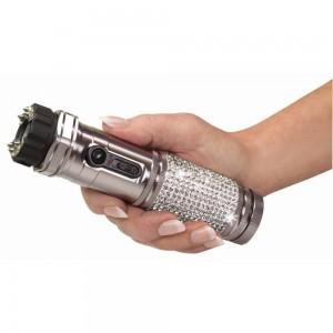 ZAP Stun Gun With Flashlight For Her 1 Million Volts